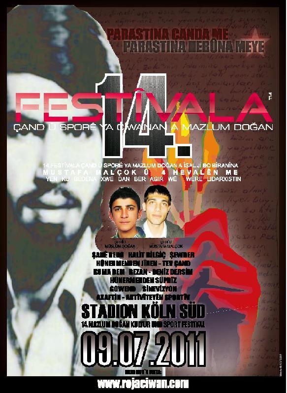 14. Mazlum Dogan Festival