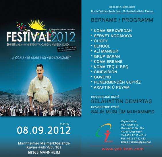 20. Kurdistan Kultur Festival