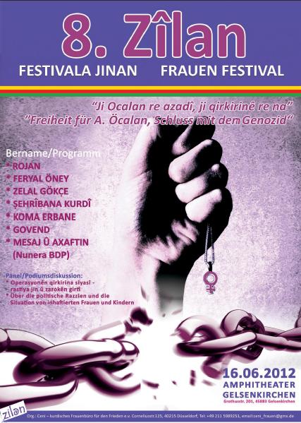 8. Zîlan Frauenfestival