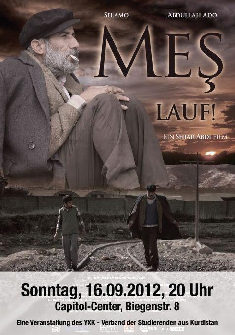 Plakat: Mes - Lauf