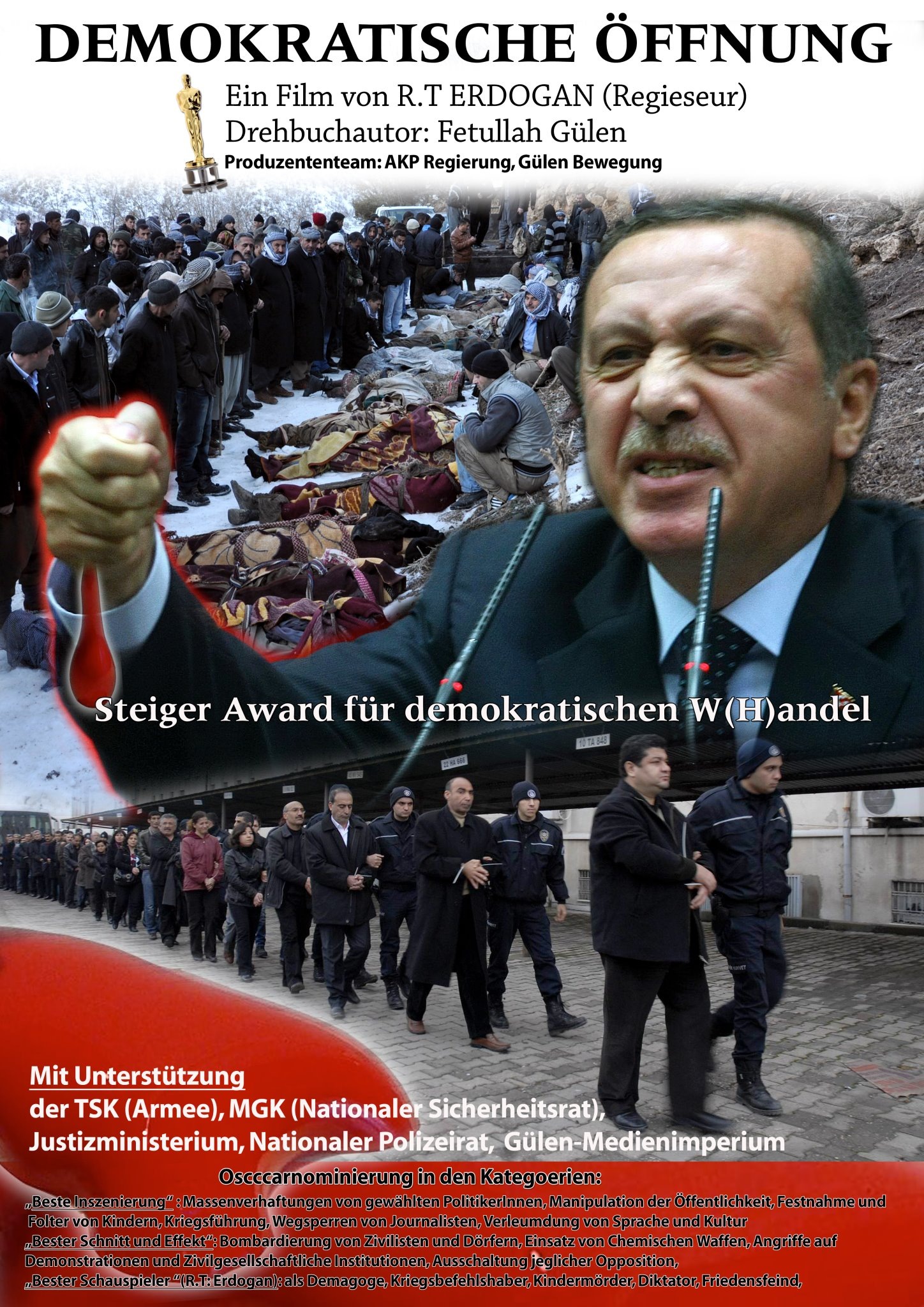 Steiger Award - Erdogan